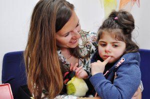 Im Sonderkindergarten Hannover stärken wir das Selbstvertrauen der taubblinden oder hörsehbehinderten Kinder.