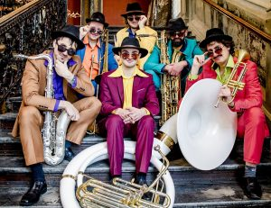 "Musiker der Jazzband ""Brazzo Brazzone"""
