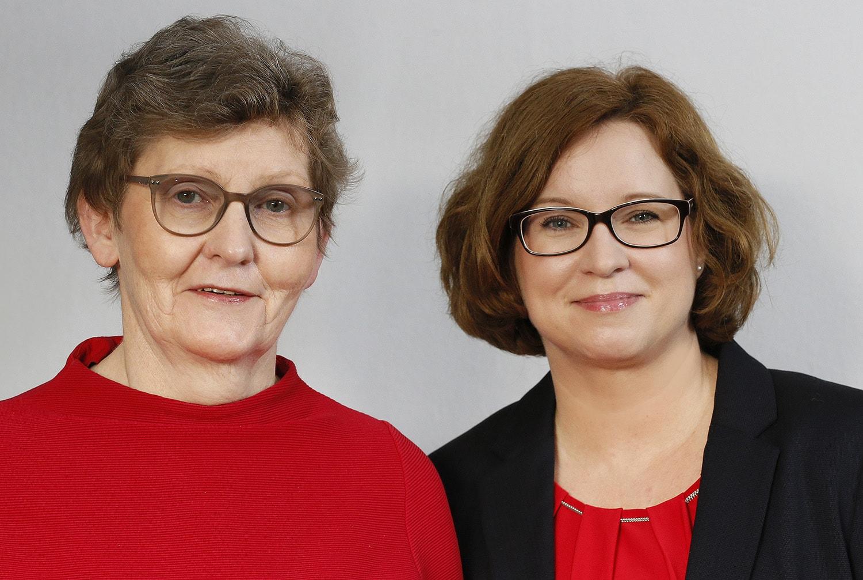 Ingeburg Brückner und Kerstin Schäder