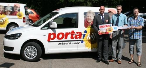 porta unterstützt Arbeit für Taubblinde