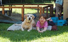 Tiergestützte Pädagogik - Die Kinder erfahren aktiv Natur und Umwelt