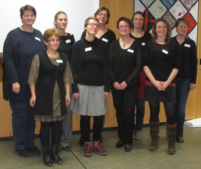 Herzlichen Glückwunsch an die Taubblindenassistentinnen in Niedersachsen: Ab sofort begleiten und helfen sie hörsehbehinderten und taubblinden Menschen