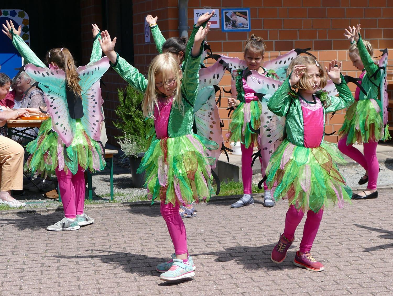 Großer Auftritt vor begeistertem Publikum für die Kleinen der Tanzgruppe Lollipops