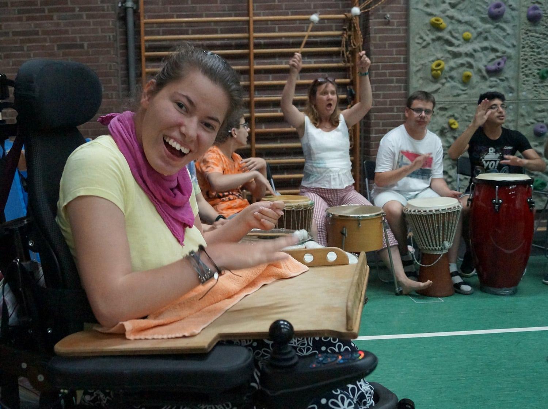 Auf Achse: Ronja war immer in ihrem Rollstuhl im Haus unterwegs und hat Lebensfreude verbreitet