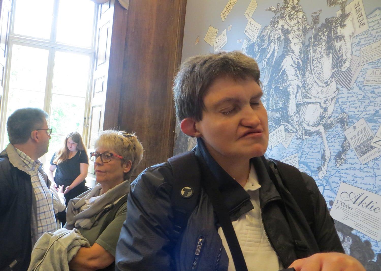 Hans Peters genießt den Urlaub in Boltenhagen