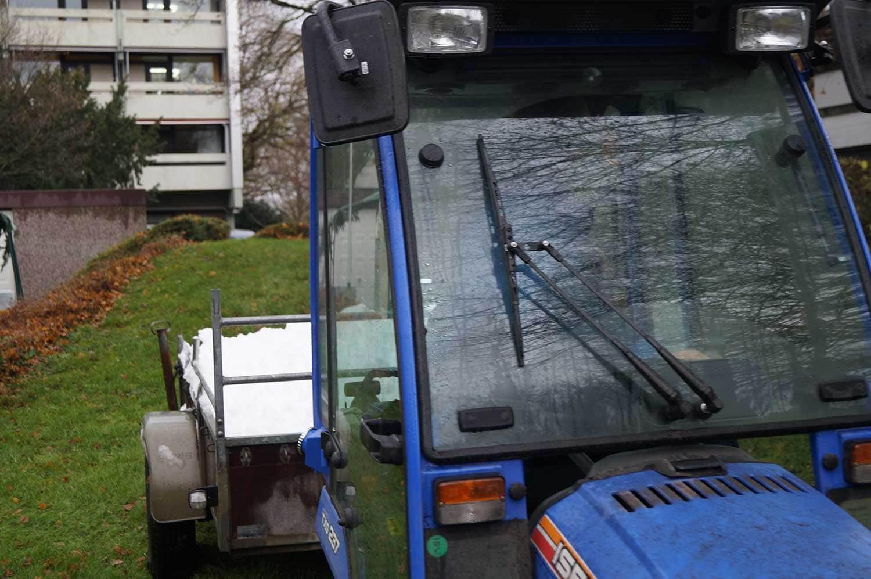 Bei milden Temperaturen ist der Rodelberg bis zum Weihnachtsmarkt weggtaut