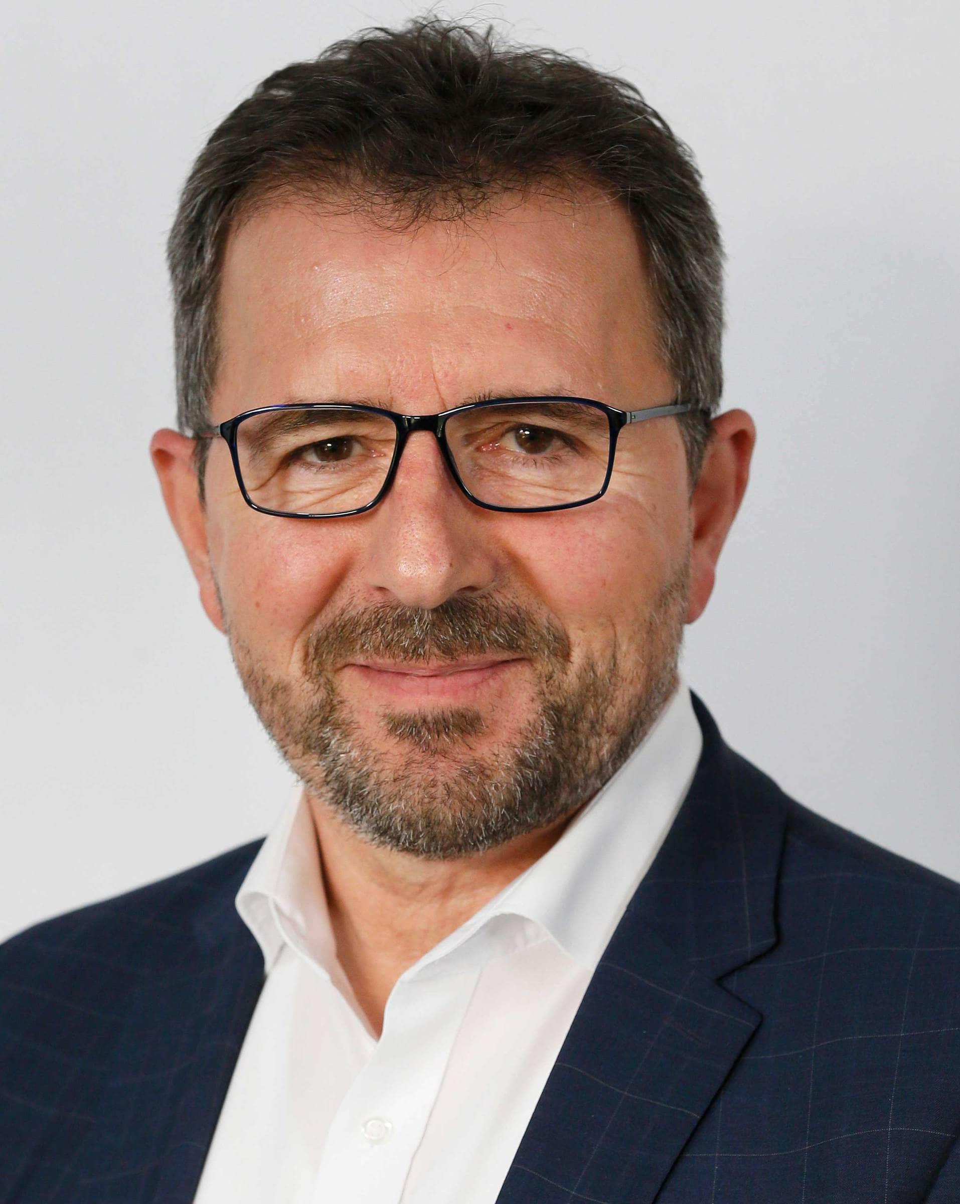 Geschäftsführer Volker Biewald